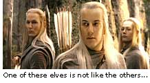 One of these elves is not like the others...